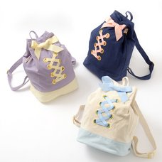 FLAPPER Lace-Up Backpack