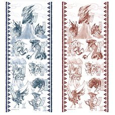 Monster Hunter XX Japanese-style Hand Towel