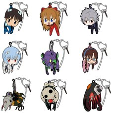 Evangelion Tsumamare Keychain Collection