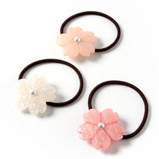 Osewaya Sakura Flower Hair Tie