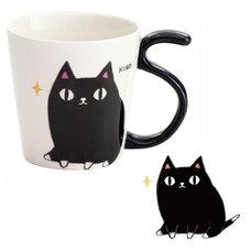 Three Cat Siblings Tail Mug