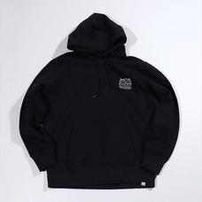 PARK Urahara Embroidered Black Hoodie