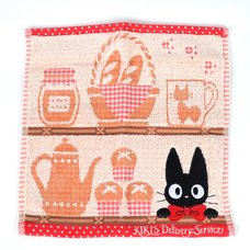 Kiki's Delivery Service Jiji on a Shelf Towel