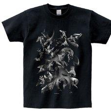 Monster Hunter Rise Revival Monsters Graphic T-Shirt