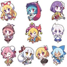 Touhou Project Yurutto Touhou Acrylic Keychain Charm Collection Vol. 1