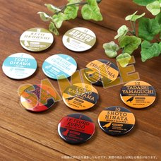 Haikyu!! Tin Badge Set