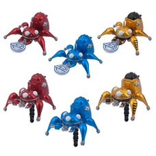 Ghost in the Shell: Stand Alone Complex Tachikoma Earphone Jack Figures