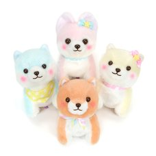 Mameshiba San Kyodai Funwari Yume no Kuni Vol. 2 Dog Plush Collection (Standard)
