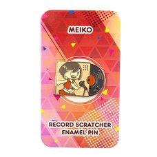 Meiko Record Scratcher Enamel Pin