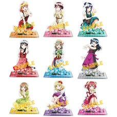 Love Live! Sunshine!! Floral Acrylic Stand Collection