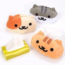 Neko Atsume Face-type Tissue Case Cover Ver.2