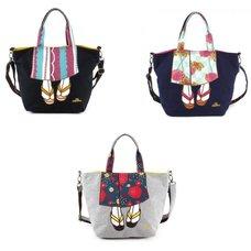 mis zapatos Kimono Shoulder Bag