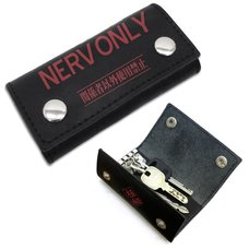Evangelion NERV Real Leather Key Case