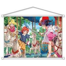 Love Live! μ's BiBi B2-Size Tapestry