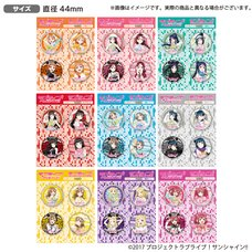 Love Live! Sunshine!! The School Idol Store Official Pin Badge Set Vol. 12