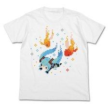 Hatsune Miku Petit Devil Ver. Goldfish White T-Shirt