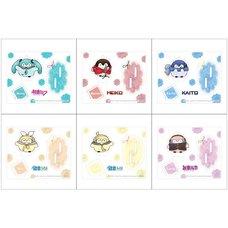 Hatsune Miku Creators Party Acrylic Stand Keychain Collection: RURUTEA Ver.