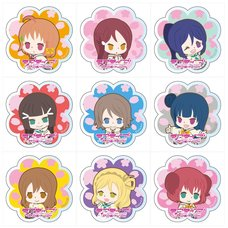 Love Live! Sunshine!! Acrylic Badge: Ohanami Ver. Box Set
