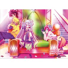 No Game No Life Throne Fabric Poster