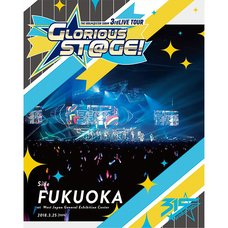 The Idolm@ster: SideM 3rd Live Tour: Glorious St@ge! Side Fukuoka Live Blu-ray (2-Disc Set)
