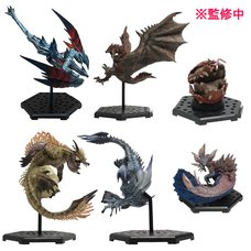 Capcom Figure Builder Monster Hunter Standard Model Plus Vol. 21 Box Set