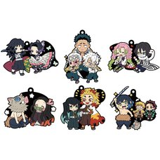 Buddy Colle Demon Slayer: Kimetsu no Yaiba Rubber Mascot Vol. 2 Box Set (Re-run)