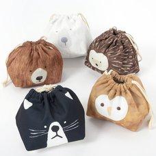 Okao Kinchaku Drawstring Lunch Bags