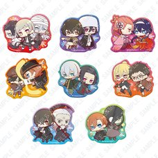 Bungo Stray Dogs Versus Clear Clip Badge Box Set
