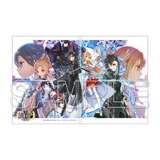 Sword Art Online Sticky Note Book