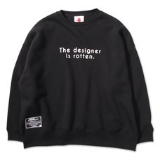 PDS The Designer is Rotten Black Trainer