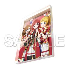 Love Live! General Magazine Vol. 2: Love Live! μ's Honoka & Eli & Maki Acrylic Magnet