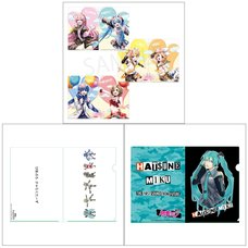 Hatsune Miku Creators Party Clear File Collection