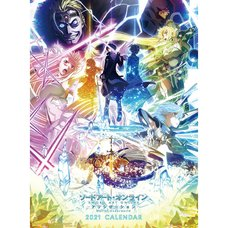 Sword Art Online: Alicization War of Underworld 2021 Calendar