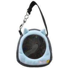 Neko-dango Osan-Pouch Light Blue Cat Carrying Case