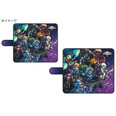 Brave Frontier Notebook-Style Smartphone Case: Juki Disnomia Ver.
