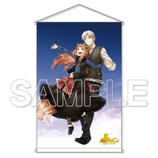 Spice and Wolf 15th Anniversary Celebration B2-Size Tapestry