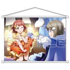 Love Live! Nijigasaki High School Idol Club Ayumu & Kasumi B2-Size Tapestry