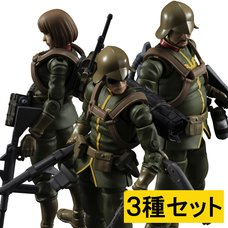 Gundam Military Generation Mobile Suit Gundam Principality of Zeon Army Soldier Set w/ Bonus