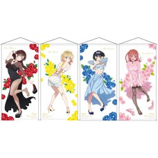 Rent-A-Girlfriend Party Dress to Kanojo Life-Size Tapestry Collection