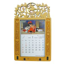 Kiki's Delivery Service 2018 Stained Frame Calendar