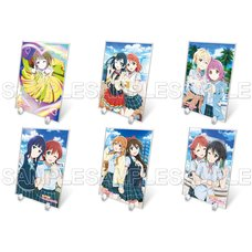 Love Live! Nijigasaki High School Idol Club Big Acrylic Stand Collection
