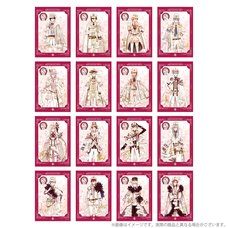 IDOLiSH7 5th Anniversary Event /BEGINNING NEXT Foil Stamped Autograph Portrait Collection Vol. 1