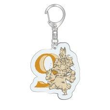 Granblue Fantasy Classic Vyrn Birthday Acrylic Key Chain (September)