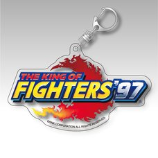 The King of Fighters '97 Title Logo Acrylic Keychain