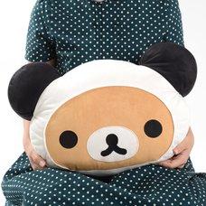 Rilakkuma Panda de Goron Cushion