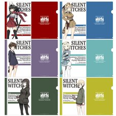 Sneaker Bunko 30th Anniversary Strike Witches: Iranko Chuutai Clear File Set