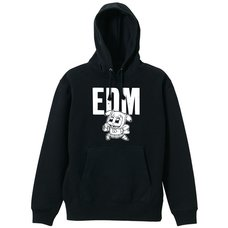 Pop Team Epic EDM Black Hoodie