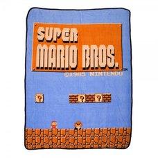 Super Mario Bros. Throw Blanket