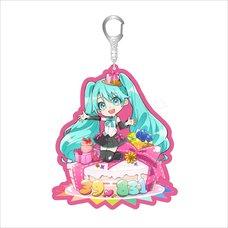 Hatsune Miku Birthday Party Acrylic Keychain: Miku BD 2020 Ver.