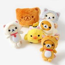 Rilakkuma Motto Nonbiri Neko Mini Plush Collection